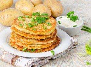 Драники (оладьи) (белорусская кухня)