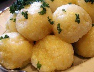 Галушки с картофелем по-польски