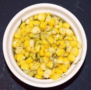 Консервированная кукуруза с маслом