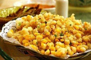 Жареная сладкая кукуруза
