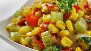 Салат из кукурузы по мексикански