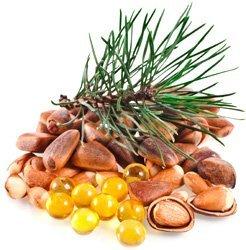 Кедровые орехи Витамин В1: 33,82(мг) /100гр