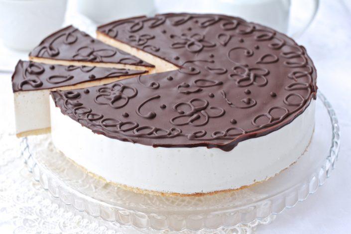 Творожный торт птичье молоко