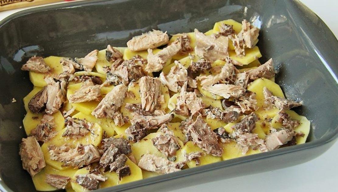 baked potato tuna